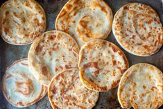 layered yogurt flatbreads – smitten kitchen - these were delicious! Yogurt Flatbread Recipe, Flatbread Recipes, Kitchen Recipes, Baking Recipes, Flour Recipes, Savoury Recipes, Healthy Recipes, Ww Recipes, Curry Recipes