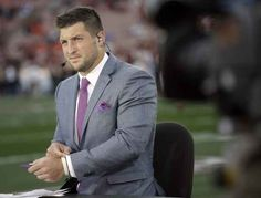 He's a good-looking guy. | 7 Reasons Why Tim Tebow Is Actually A Great Fit For ESPN