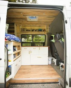 Would add a fridge to the kitchen space but like the storage under the bed