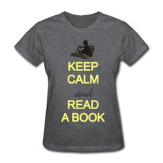 keep calm and read, cute teacher shirts!