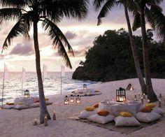 Divine Evening in Maldives