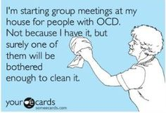 why haven't i thought of this already...i'm OCD i just don't have the motivation to clean all the time =)