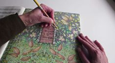 Art World: Experts Warn Adult Coloring Books Are Not Art Therapy, ArtNet article by Sarah Cascone, Friday, August 7, 2015 (image: An adult coloring book. Photo: Passion for Pencils, YouTube screenshot.)