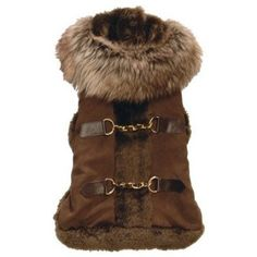 New York Dog Aspen Coat - Brown, Medium