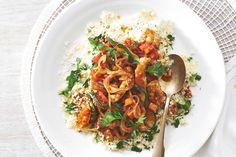 30 oktober - Kipfiletreepjes in de bonus - Recept - Kruidige kiptajine - Allerhande Asian Recipes, Healthy Recipes, Ethnic Recipes, Healthy Meals, Moroccan Dishes, Good Food, Yummy Food, Tasty, Ras El Hanout