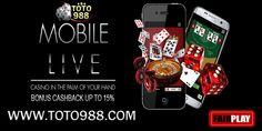 TOTO988.com 1 User Id bisa main semua Game : | TOGEL| BOLA| CASINO| POKER| E-GAMES| ADU AYAM| BBM: D8AE7581 WA : +85515289210 *Aman dan terpercaya