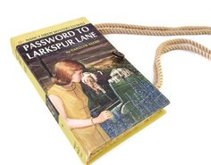 Book Purse Nancy Drew Password to Larkspur Lane by retrograndma, $39.99