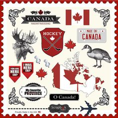 Use the Canada Sightseeing Stickers from Scrapbook Customs today. These 12 x 12 cardstock stickers are a great addition to all your scrapbooking and cardmaking projects. 12x12 Scrapbook, Scrapbook Albums, Scrapbook Supplies, Digital Scrapbooking, Canadian Culture, Canadian Things, Canada Day, Scrapbook Embellishments, Happy Planner