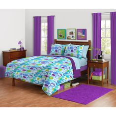 $39.88 F/Q your zone mod squares bedding comforter set
