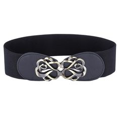 Women Belts Luxury Brand Ladies Girls Fashion Wide Metal Buckles Stretchy Womens Elastic Waist Belt Waistband Belts For Women Quito, Ivana, Grace Karin, Thin Skinny, Leather Belts, Pu Leather, Women's Belts, Dress Gloves, Large Scarf