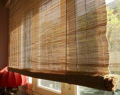 Relooker un store en bambou