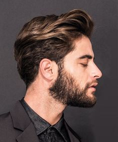 Top 12 Popular Men's Haircuts For Men 2019 - Man Hair Style Popular Mens Haircuts, Trendy Mens Hairstyles, Haircuts For Men, Straight Hairstyles, Cool Hairstyles, Hipster Haircuts, Brown Hairstyles, Haircut Men, Medium Haircuts