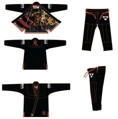 Oni Gi (Deposit Only) ravenfightwear.com.au