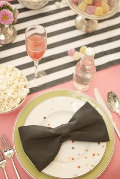 bow place settings