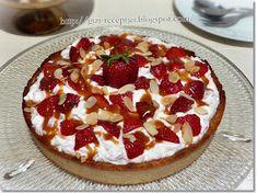 Gizi-receptjei. Várok mindenkit.: Epres-mogyorós torta.