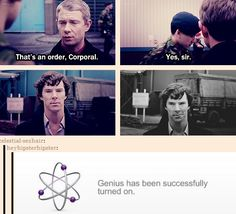 Oh gosh I definitely don't ship johnlock but I have got to say this is too funny!