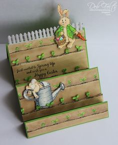 With a Stamp and a Song: Hop Into Spring!