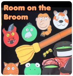 Room On A Broom Small Group Activities