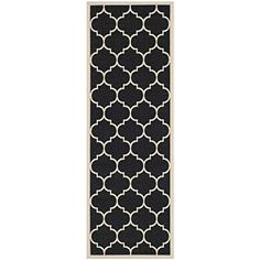 Safavieh Courtyard Collection CY6914-266 Black and Beige ...