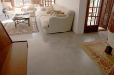 Interior decoration with cement This time I want to share the newest trends in interior decoration, Concrete Projects, Concrete Floors, Kitchen Gadgets, Diy Art, Interior Decorating, Sweet Home, Backyard, Flooring, House