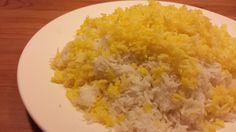 Persian rice with tahdig