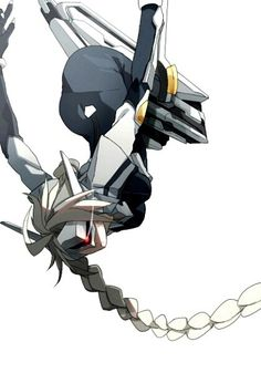 Credit to the original. Lambda-11 from BlazBlue