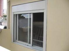 janela integrada & veneziana