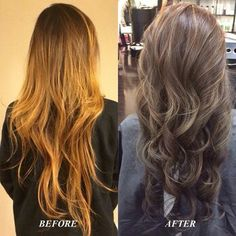 Color Correction: Ash, Neutral, or Cool colors will tone down any orange / brassy highlights or bleaching.