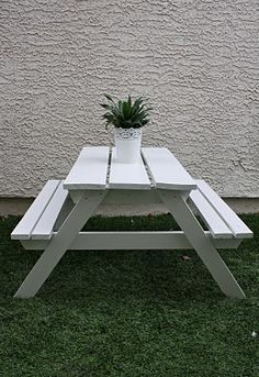 Picnic Table! #picnic Table, #planter,#landscape   Build It Swing / Chair/  Table/ Fence   Pinterest   Picnic Tables, Planters And Backyard