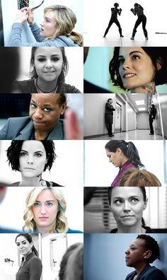 Blindspot women #blindspot