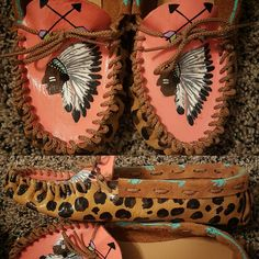 Wild Heart Moccasins. Look me up on Facebook.