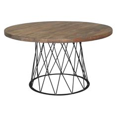 Moes Home Collection Lontano Dining Table | from hayneedle.com $1005 Small= 42""