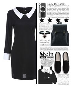 """""""SheIn #10"""" by selmagorath ❤ liked on Polyvore featuring Anja, Casetify and Rock 'N Rose"""