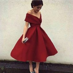 Off The Shoulder Dress,Satin Homecoming Dress,Short Prom Dresses,Sexy Cocktail Party Dresses on Luulla