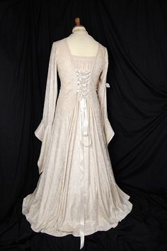 medieval dress   possible wedding dress style