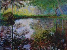 Claude Monet Landscape Painting