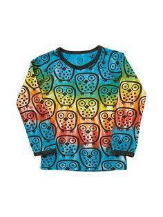 86e9f9a0f ej sikke lej Owl T-shirt Tie-Dye