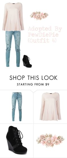 """""""Adopted By PewDiePie (Outfit 4)"""" by thedanysimsbg ❤ liked on Polyvore featuring Yves Saint Laurent, The Row, Revel and Accessorize"""
