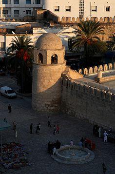 Les remparts de la médina, Sousse - Tunisie 2012