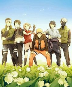 Naruto shippuden equipo 7