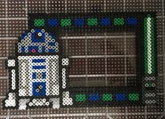 Star Wars R2D2 4x6 Picture Frame Perler /Hama Beads - Click for more patterns