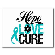 Shop Breast Cancer HOPE LOVE CURE Gifts Postcard created by cancerapparel. Personalize it with photos & text or purchase as is! Pancreatic Cancer Awareness, Prostate Cancer, Cancer Quotes, Cancer Support, The Cure, Pink, Purple, Postage Stamps, Postcards