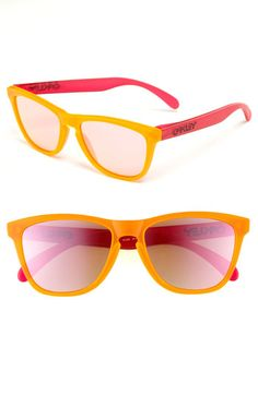 36d060ea38 love this colour combo ~ Oakley  Frogskins® Blacklight Edition  Sunglasses  Spy Sunglasses