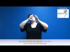 I Am Australian in Auslan - YouTube