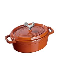 Staub Coq au Vin Cocotte - Burnt Orange - 5.75QT -- Tried it! Love it! Click the image. : Dutch Ovens