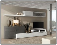 Buy TV Cabinet for living room. TV cabinet with showcase. TV cabinet with light. Living Room Tv, Home And Living, Modern Tv Units, Muebles Living, Tv Wall Decor, Home Decor Furniture, Home Interior Design, Living Room Designs, Family Room
