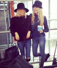 Caroline Stanbury and Caroline Fleming