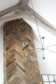 Refresh show house 2015 barnwood fireplace
