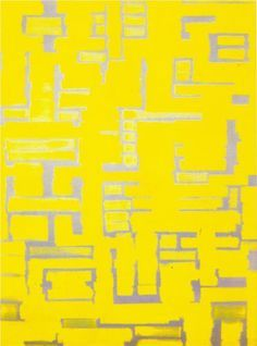 Untitled (Yellow and White) Artist: Ad Reinhardt Completion Date: 1950 Style: Hard Edge Painting Genre: abstract Technique: oil on canvas Dimensions: x cm Hard Edge Painting, Action Painting, Yellow Painting, Willem De Kooning, Jackson Pollock, Land Art, Abstract Painters, Abstract Art, Pop Art