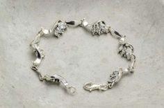 Armbånd i sølv med zirkonia Silver Jewelry, Ring, Bracelets, Fashion, Wristlets, Moda, Rings, Fashion Styles, Silver Jewellery